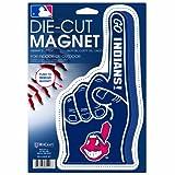 MLB Cleveland Indians Die Cut #1 Finger Logo Magnet