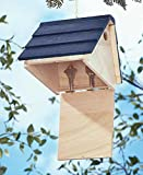 Woden Charming Country Birdhouse Hides House Keys Garden Decoration Hanging Bird House