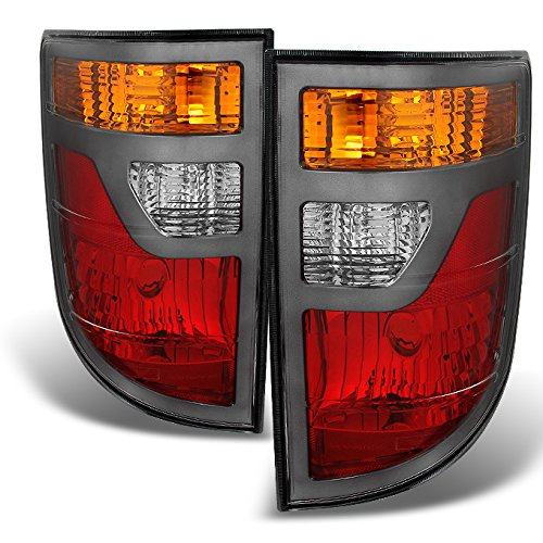For Honda Ridgeline 4-Dr Pickup Truck Clear Tail Lights Driver Left + Passenger Right Side Replacement
