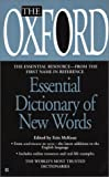 The Oxford Essential Dictionary of New Words, Oxford University Press Staff, 0425190978