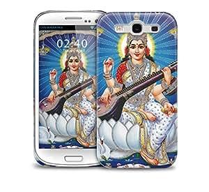 Saraswati river blue Samsung Galaxy S3 GS3 protective phone case