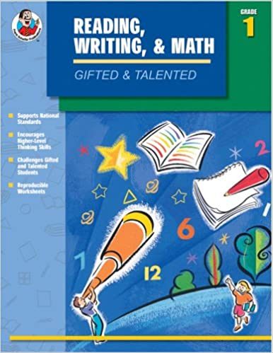 Gifted & Talented Reading, Writing, and Math, Grade 1: Carson ...