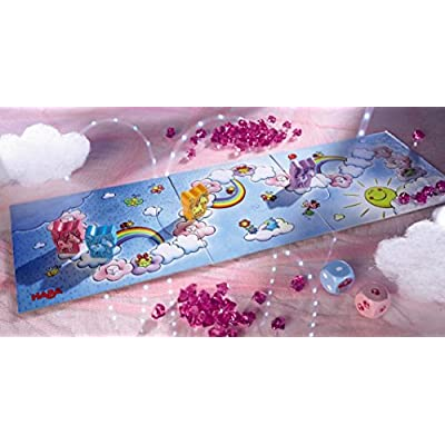 HABA Unicorn Glitterluck Cloud Crystals - A Sparkling Die Competition Ages 3+ (Made in Germany): Toys & Games