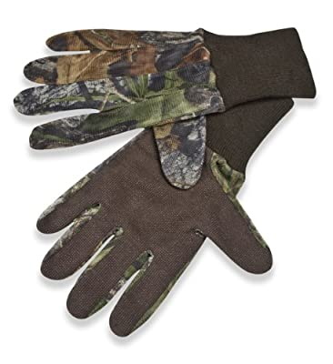Mossy Oak Mesh Gloves with Grip Palm