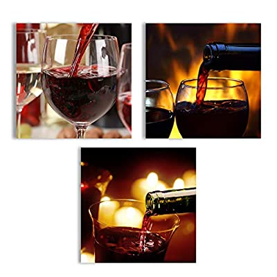 Abstract Wine Cup Pictures Home Wall for Kitchen...12