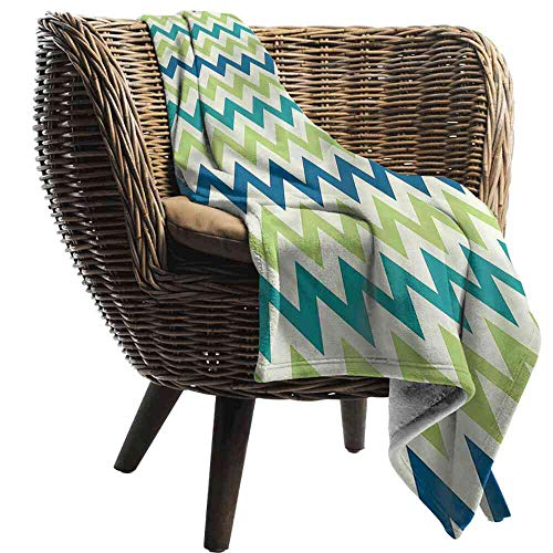 - Big datastore Blanket Chevron,Vintage Style Zigzag Shape Blanket Toddler Size:30