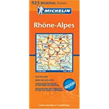 Michelin Map France: Rhone Alpes 523