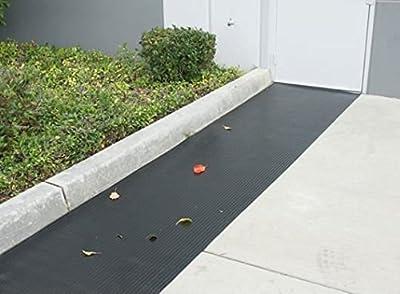 Thermodyn Black Fine Rib Rubber Flooring