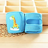 Baby knee Pads, Cute Adjustable Breathable Infant