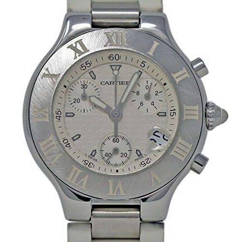 - Cartier Must 21 Swiss-Quartz Male Watch W10184U2 (Certified Pre-Owned)