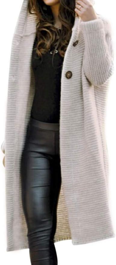 Veste Capuche Long En Longues Femme Chaud Casual Sweater 1 Outwear Pull Hiver Manteau Épais Manches Chandail Tricot Ouvert Cardigan Vertvie Gilet Pcs rdxBhQstCo