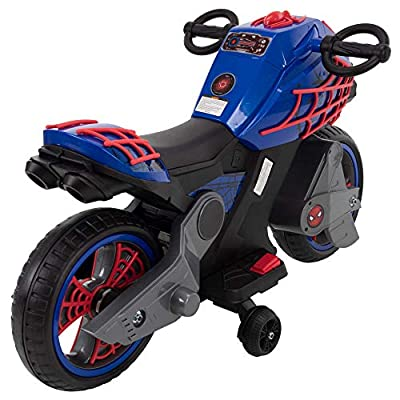 Huffy Marvel Spider-Man 6-Volt Battery Powered Ride On: Toys & Games