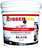 Rubberseal Liquid Rubber Waterproofing and Protective Coating -- Roll On (1 Gallons)