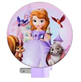 Disney Princess Sofia the First Night Light (Princess Sofia and Animal Friends) Color: Pink NewBorn, Kid, Child, Childern, Infant, Baby
