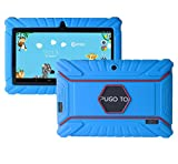 Aokay 7 Inch Soft Anti Slip Silicone Cover Case for Alldaymall A88X、Kids Tablet,Dragon Touch Y88X、Y88X Plus,VURU A33,Neutab N7 Pro、N7sPro、Kids Tablet and more