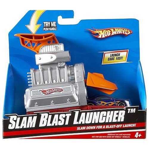 hot wheels, slam blast launcher, t2538  Multi color