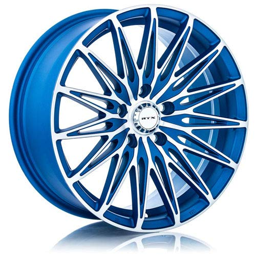 RTX Crystal, 17X7.5, 5X114.3, 40, 73.1, Blue MACHINED 081886 (08 Coupe Rims Accord)