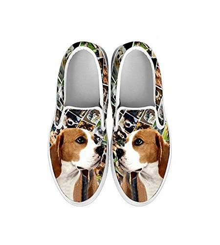 Pet Beagle Your Slip Ons Slip Dog Shoes Print Breed Women's Lovely Choose Ons Amazing 1PT4wqOq