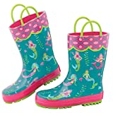 Stephen Joseph Boys' All Over Print Rain Boots