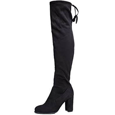 Amazon.com | SheSole Womens Thigh High Over The Knee Boots | Over ...