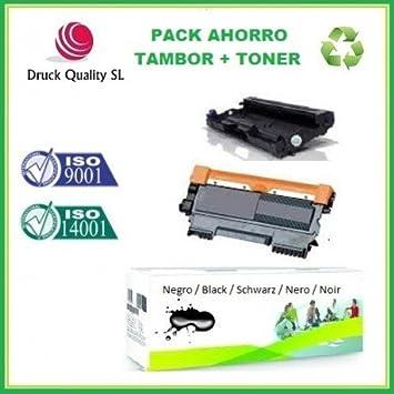 DQ DR2300 + DQ TN2320 Pack Ahorro 2 Unidades Tambor +Toner ...
