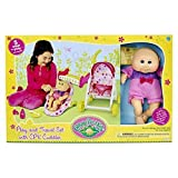 Cabbage Patch Kids Play and Travel Set with CPK Cuddler
