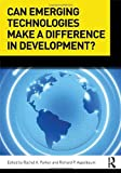 Can Emerging Technologies Make a Difference in Development?, , 0415884330