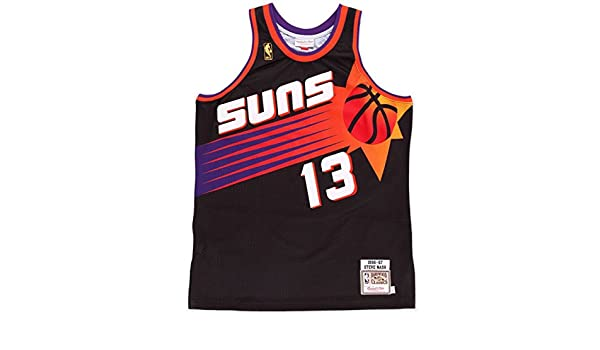 Mitchell & Ness - Camiseta de baloncesto NBA de Steve Nash de los Phoenix Suns 1996, L: Amazon.es: Deportes y aire libre