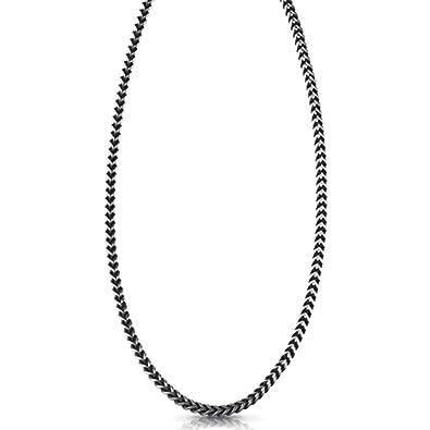3724a75dcd3e Guess Colgante Collar para Hombre Acero Inoxidable  Amazon.es  Joyería