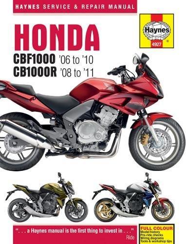 Honda Cbf1000 & Cb1000r (06-11). ebook