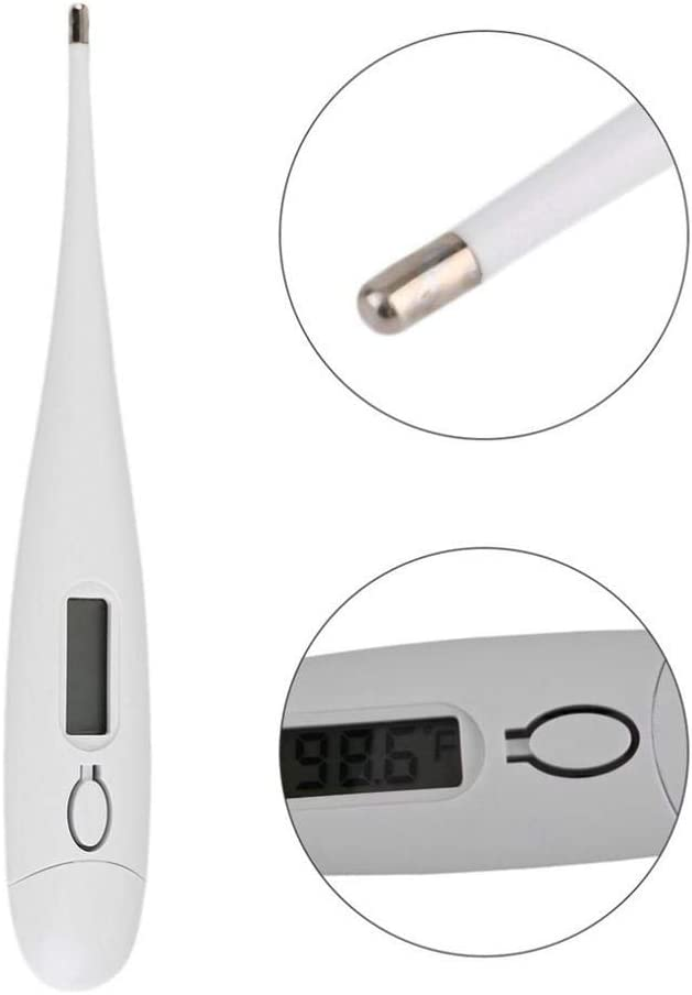 Digital Medical Thermometer Child Adult Kid Underarm Thermometers Household Electronic Precision Temperature Measurement for Fever Accurate and Fast Readings