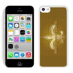 DIY Custom Phone Case For iPhone 5C New Orleans Saints 24 White Phone Case For iPhone 5C Cover Case