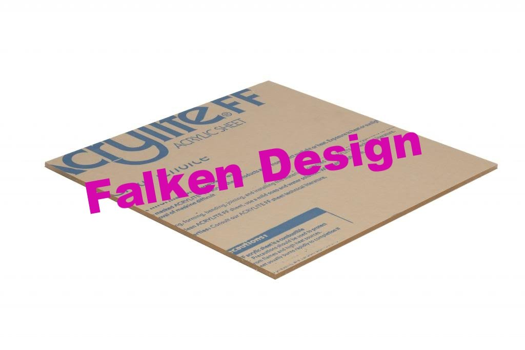 0.236 // Plexiglass Lucite + Dispatch The Same OR Next Business Day viaContact Seller Free Cut to Size Clear Acrylic Sheet Falken Design: 18 x 18-1//4