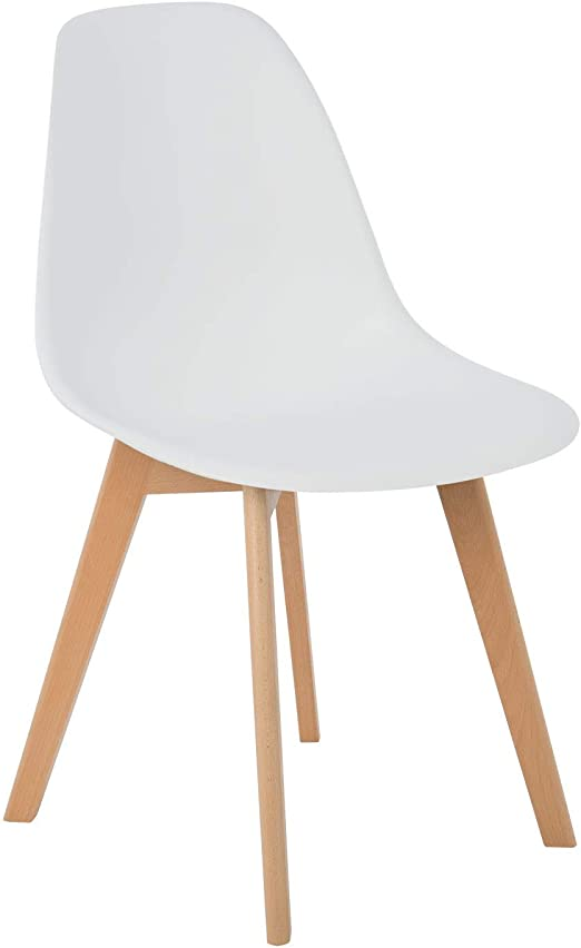 SKLUM Sedia Brich Scand Nordic Bianco (Scegli Un Colore)