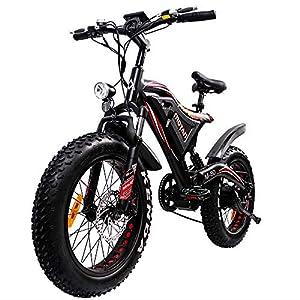 Addmotor MOTAN Full Suspension Fat Tire M-80 Electric Bike