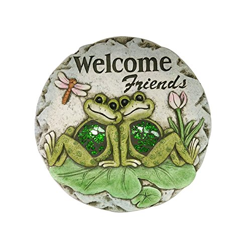 """Comfy Hour 10"""" Frog Garden Stepping Stone"""