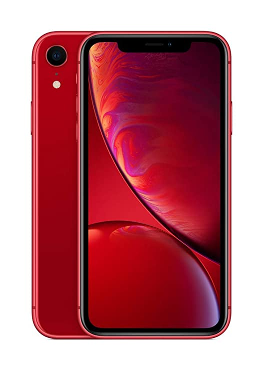 Apple iPhone XR (64GB) (Product) RED at amazon