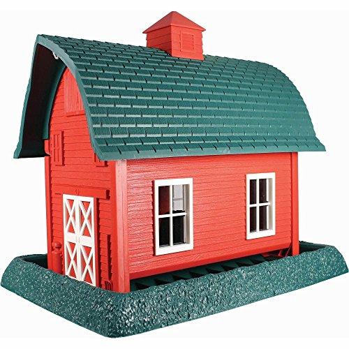 (North States Village Collection Grand Style Birdfeeder-Larege Red Barn)
