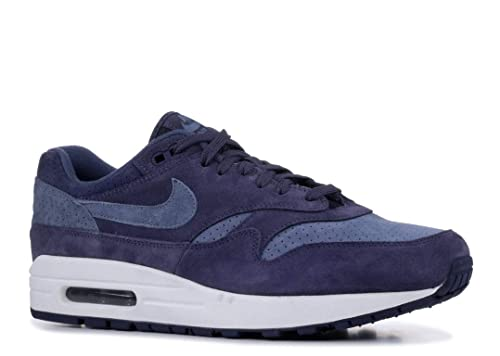 Amazon.com | NIKE Mens Air Max 1 Premium Shoe Neutral INDIGOBLUE | Fashion Sneakers