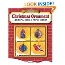 Three-Dimensional Christmas Ornament Coloring Book & Paper Crafts