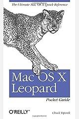 Mac OS X Leopard Pocket Guide by Chuck Toporek (2007-11-16) Paperback