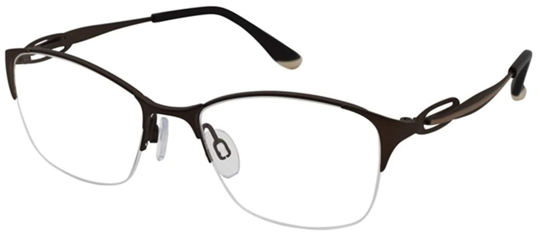 CHARMANT PERFECT COMFORT Eyeglasses TI 10615 BR Brown
