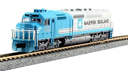 kato-n-gauge-176-9241-emd-sdp40f-type-ivb-bnsf-maersk