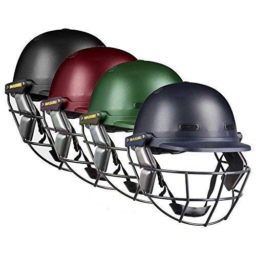 MASURI VS Club Junior Cricket Helmet, Green, One Size by Masuri by Masuri