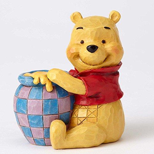 (Jim Shore Disney Traditions Mini Winnie The Pooh Pot of Honey Figurine 4054289)
