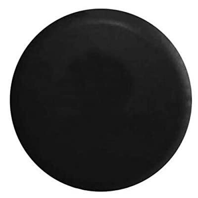 BCP Black Color PU Leather Spare Tire Cover (Fit 31-33 inches): Automotive