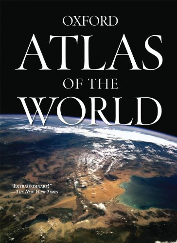 Atlas of the World:  with free wall map, 15/e-cover