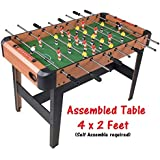 BIG Full Size 4 x 2 Feet Foosball Indoor Football / Soccer Table for Multi player at Home Office Mall Clubs Tournament Commerial purpose