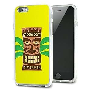 Tropical Tiki Head Slim Fit Hybrid Case Fits Apple iPhone 6