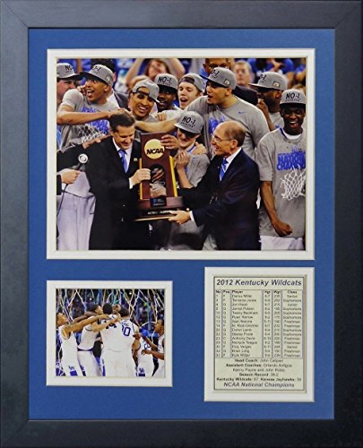 11x14 FRAMED 2012 KENTUCKY WILDCATS NCAA NATIONAL CHAMPIONS 8X10 PHOTO -